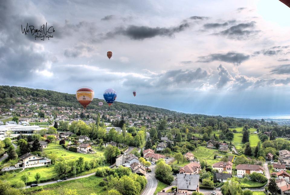 Post - Montgolfiade - Evian