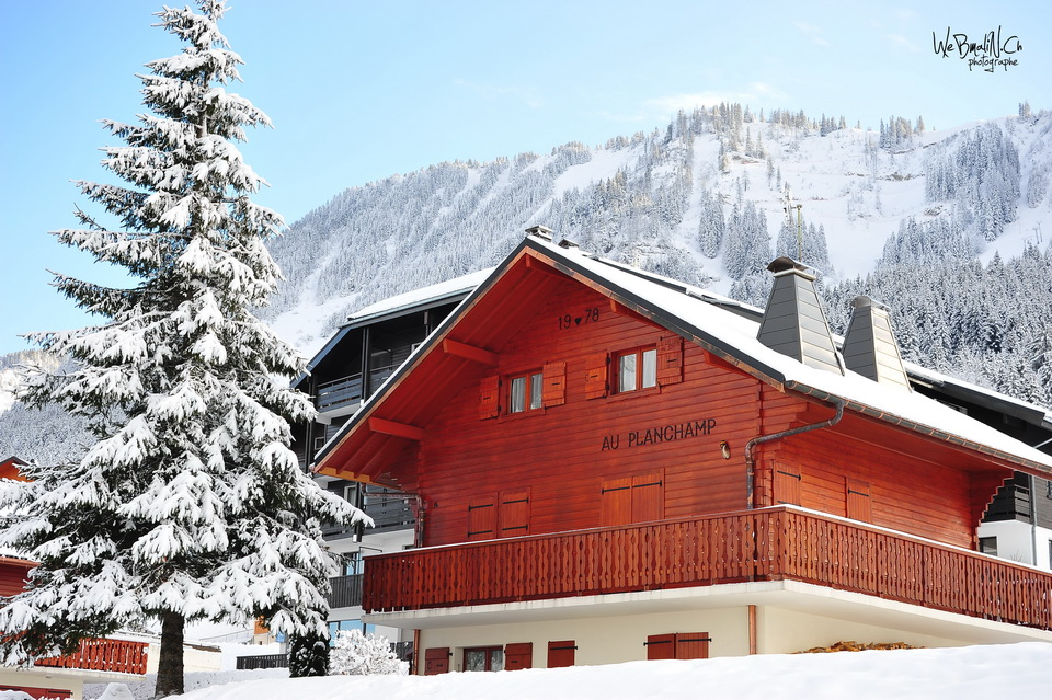Post - Station - Thollon - Chalet d'Alpages
