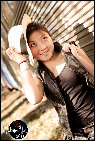 Shooting Portrait - Model Marie