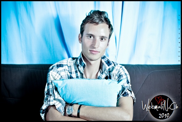Shooting Portrait - Model Matthieu - BG