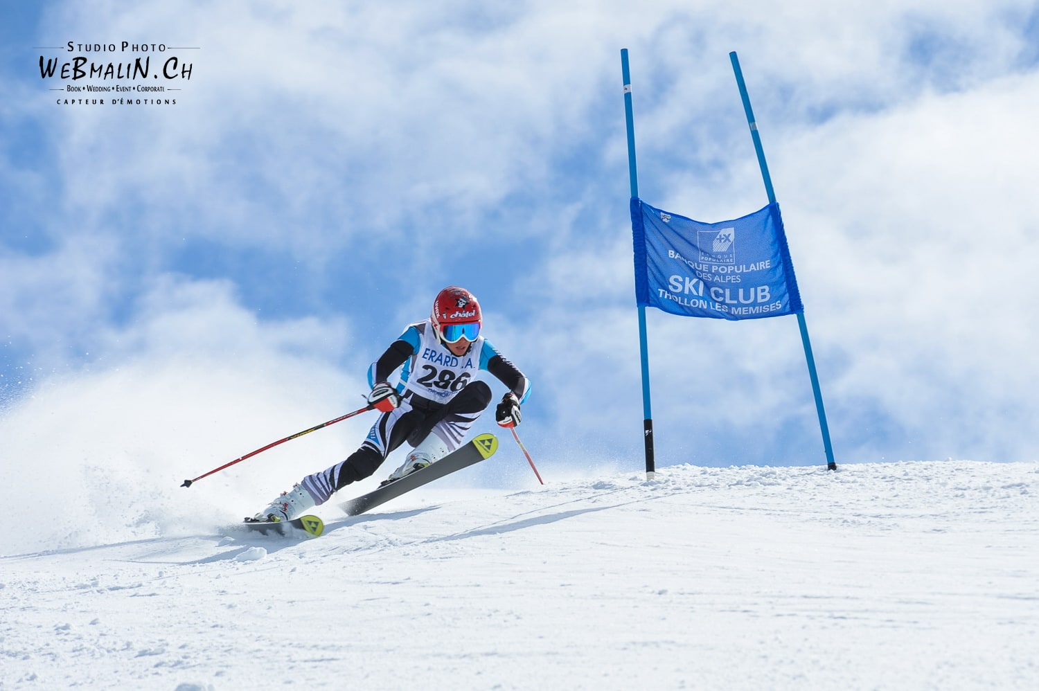 Competition Ski Club Thollon Les Memises - 1187-1