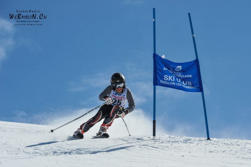 Competition Ski Club Thollon Les Memises - 1393-1