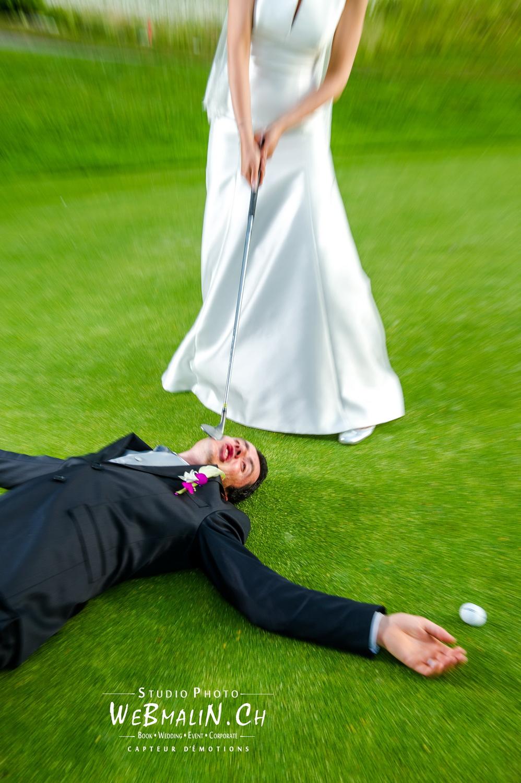 Mariage Thonon Golf - Aurelien & Cécile