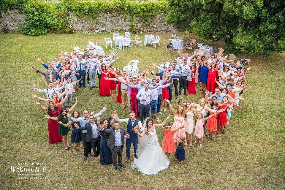 Mariage Thonon - Jardin Chateau Ripailles - Couple Coeur - Maries - Amiira - Mathieu - DSC_4882-1