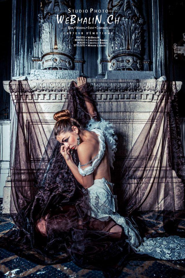 Portfolio - Ambiance Urbex - Modele Christelle