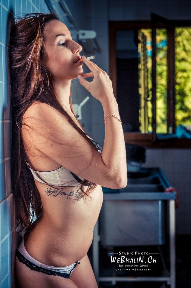 Portfolio - Ambiance Urbex - Modele Emilie