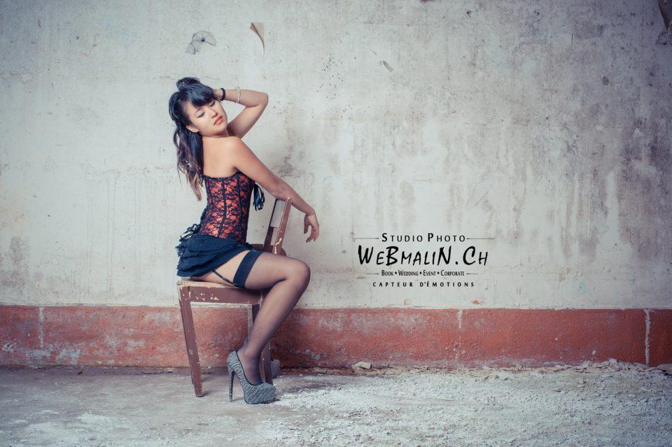 Portfolio - Ambiance Urbex - Modele Joséphine