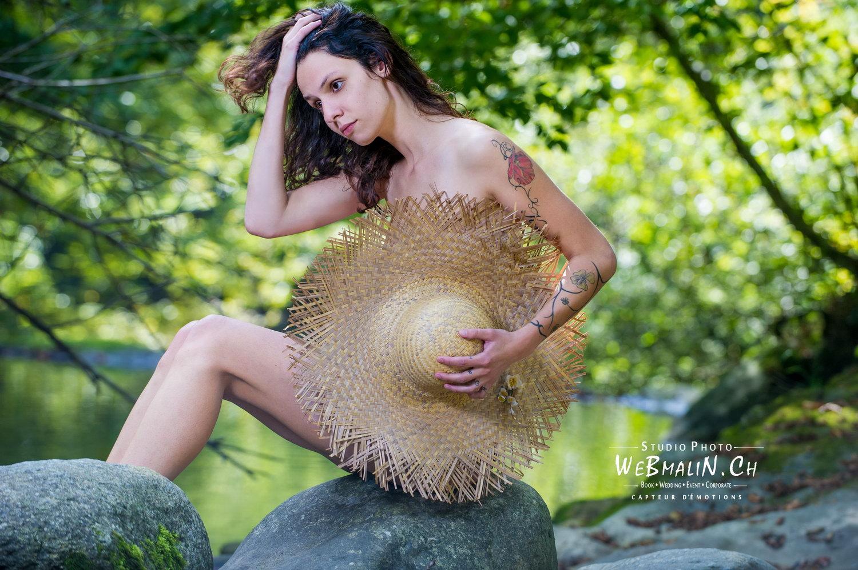Portfolio - Boudoir - Nature - Douvaine - Model Joana