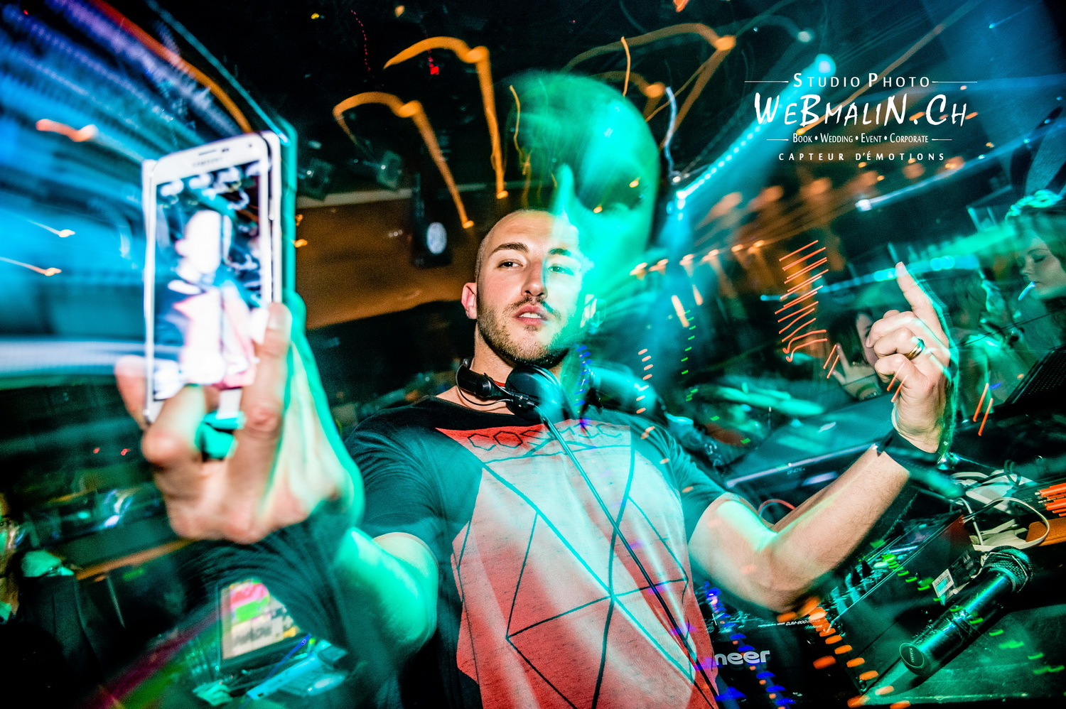 Portfolio - Clubbing - Magic Finger - Dj DkMike