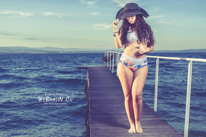Portfolio - Lac leman - Shooting Summer - Model Emilie