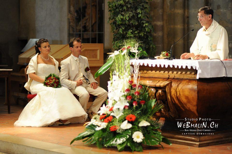 Photographe Mariage - Eglise Evian