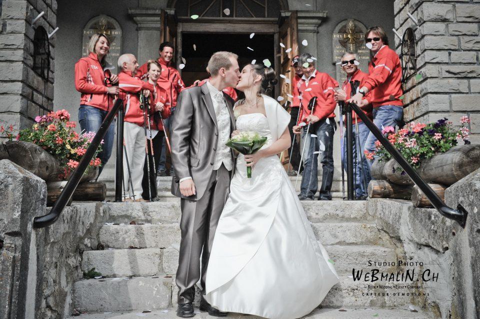 Portfolio - Mariage - Eglise Thollon - Famille Grenat