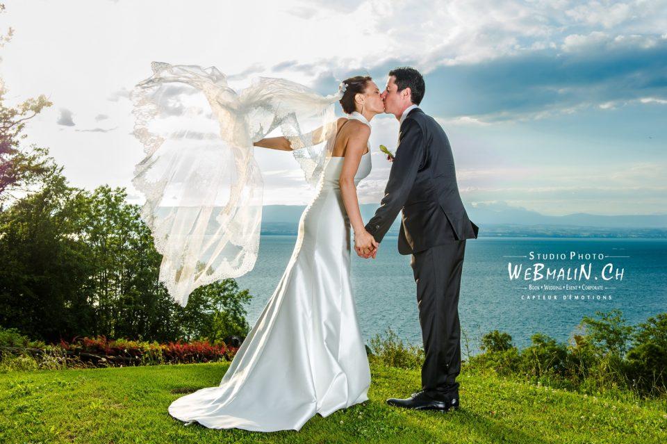 Portfolio - Mariages - Couple Mariés - Golf Evian