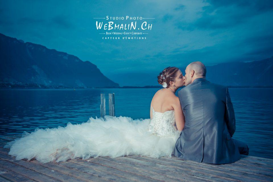 Portfolio - Mariage - Mariés - Ponton Montreux Casino