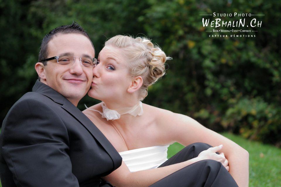 Portfolio - Mariage - Couple Mariés - Fou d'amour