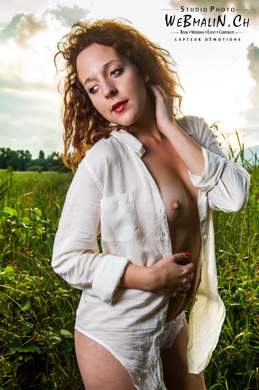 Portfolio - Nu Artistique - Pleine Nature - Modele Morgane
