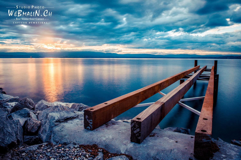 Portfolio - Paysage - Lac Leman Evian Paisible