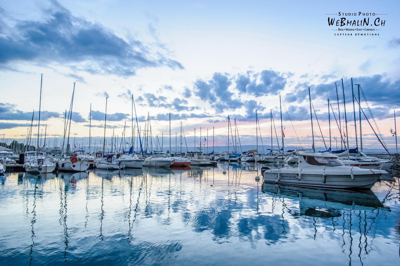 Portfolio - Paysage - Port - Bateau et Voilier - Evian