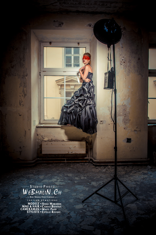 Portfolio - Photo - Backstage - Modele Anna Maradan