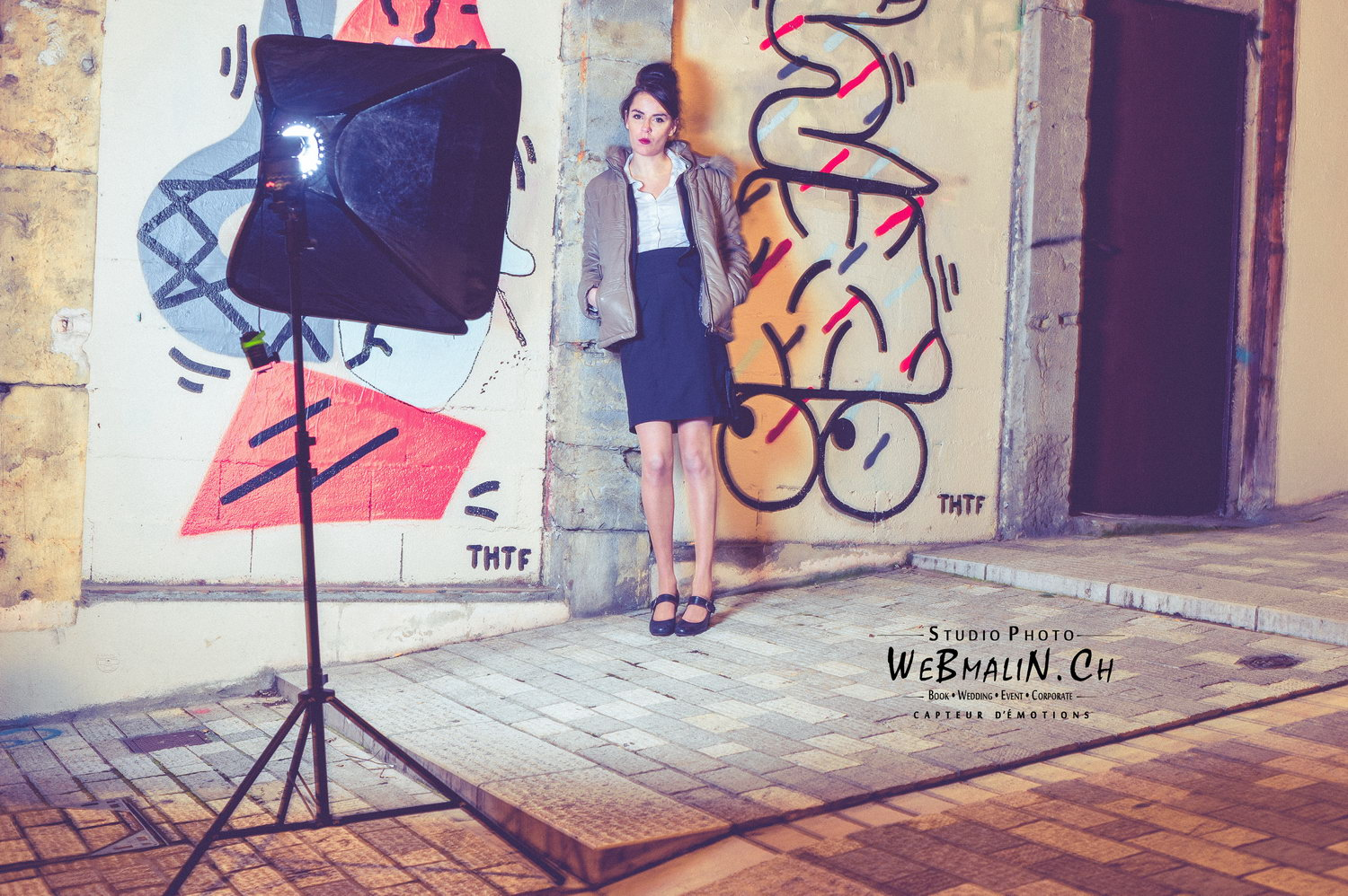 Portfolio - Photo - Backstage - Modele France