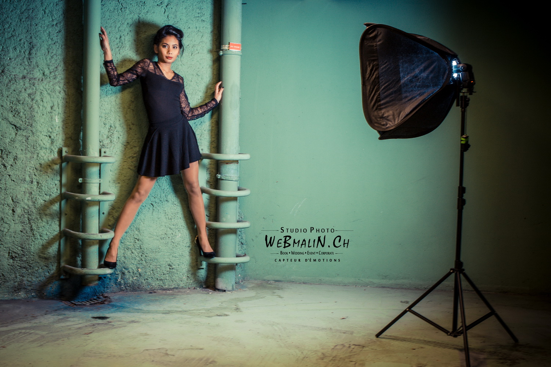 Portfolio - Photographe Thonon - Backstage - Modele Anne Charlotte