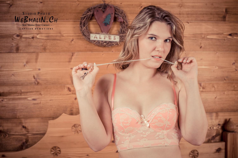 Portfolio - Séance Boudoir - Model Elodie