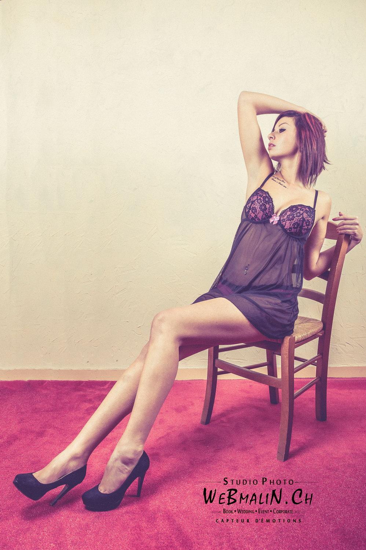 Portfolio - Séance Boudoir - Model Fanny