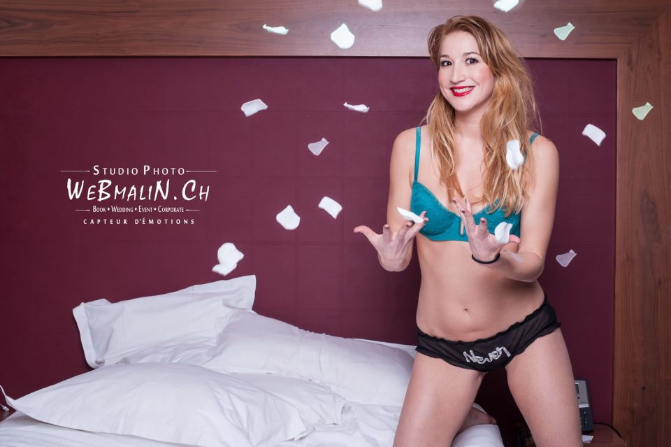 Portfolio - Séance Boudoir - Model Marie