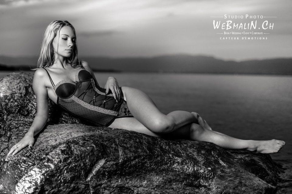 Portfolio - Séance Lingerie - Model Ophelie