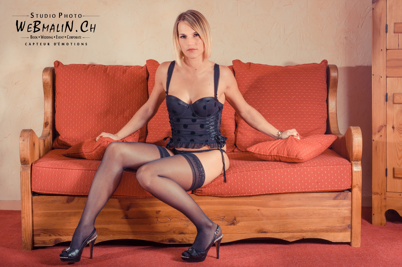 Portfolio - Séance Boudoir - Modele Céline