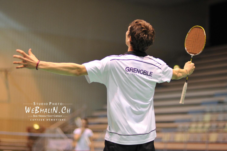 Portfolio - Sport - Badminton - Franck Beaudoing