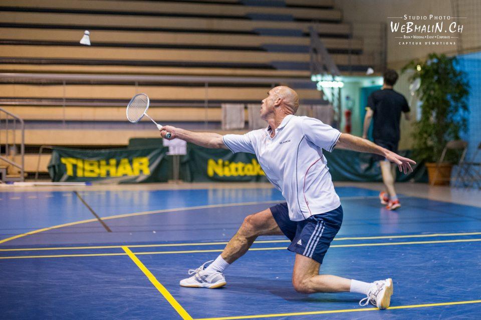 Portfolio - Sport - TBC74 - Tournoi Leman Badminton - Yves Bontemps
