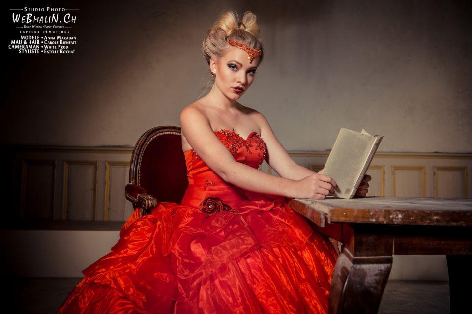 Portfolio - Urbex Autriche - Modele Anna Maradan