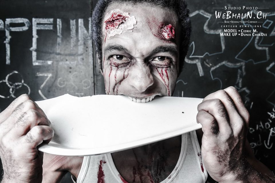Portfolio - Zombie Walking Dead - Model Cédric
