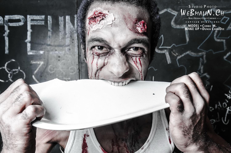 Portfolio - Zombie Walking Dead - Model Cédric