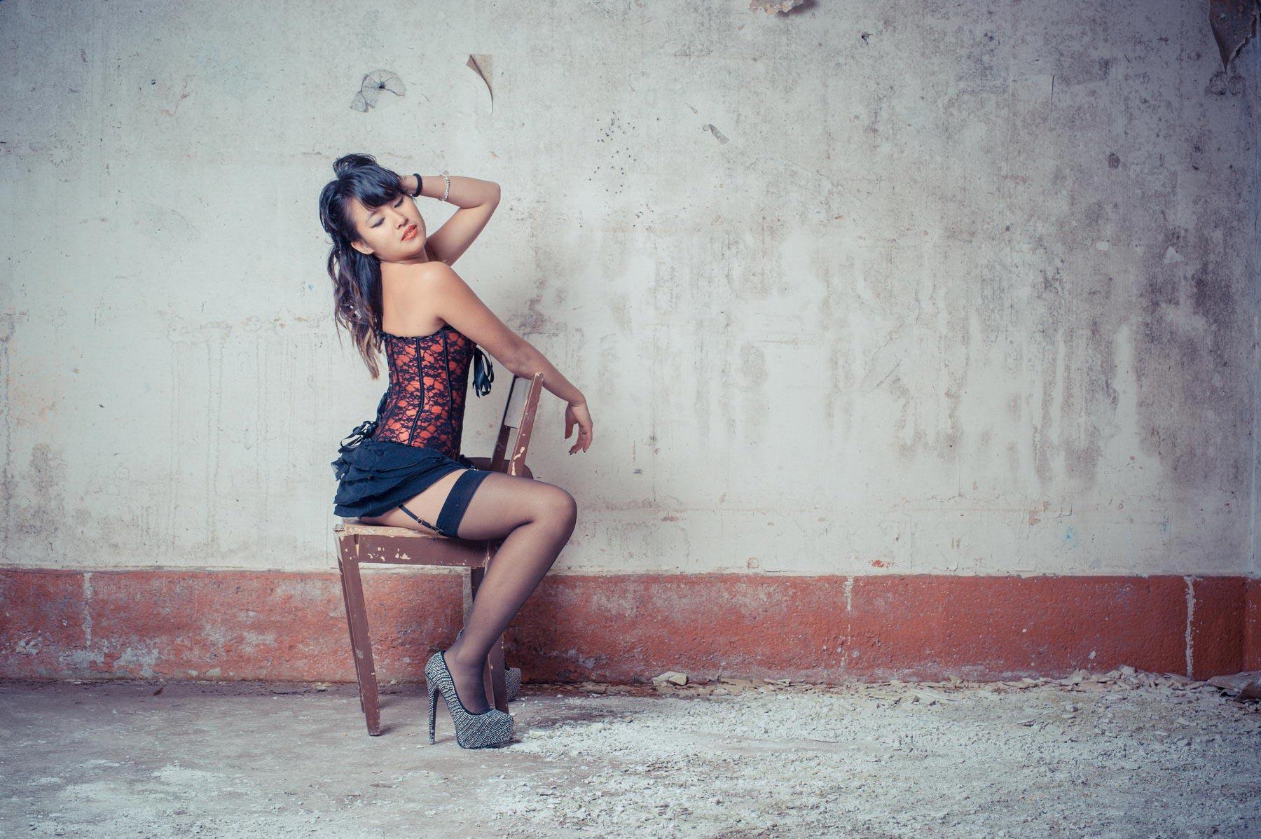 Top Modele - Séance Photo Urbex - Joséphine