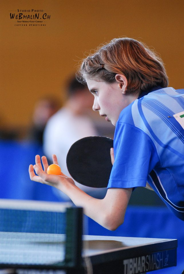 Tournoi - PingPong - Tennis de Table - Evian - Amanda FAUVEL 15-1
