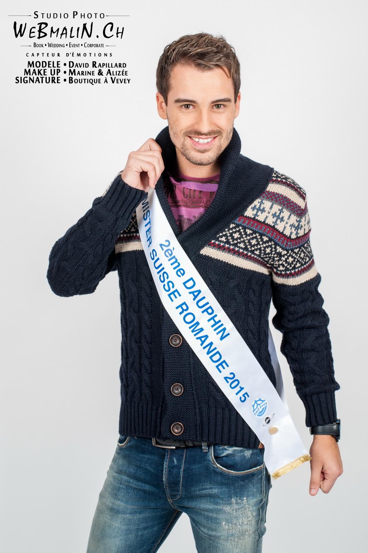 Portfolio - 2 Dauphine Mister Suisse - Model David Rapillard