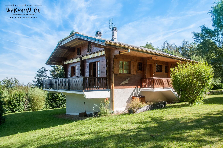Portfolio - Bien Vendre - Photo Immobilier 74 - Chalet - Montagne - Thollon