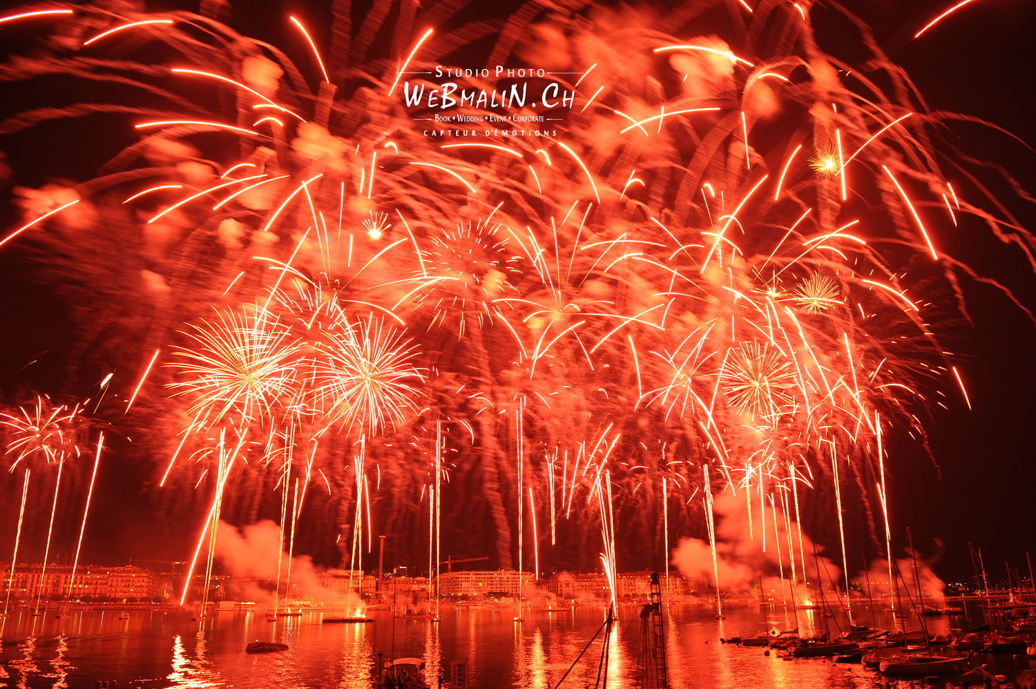 Portfolio - Feux Artifices - Geneve