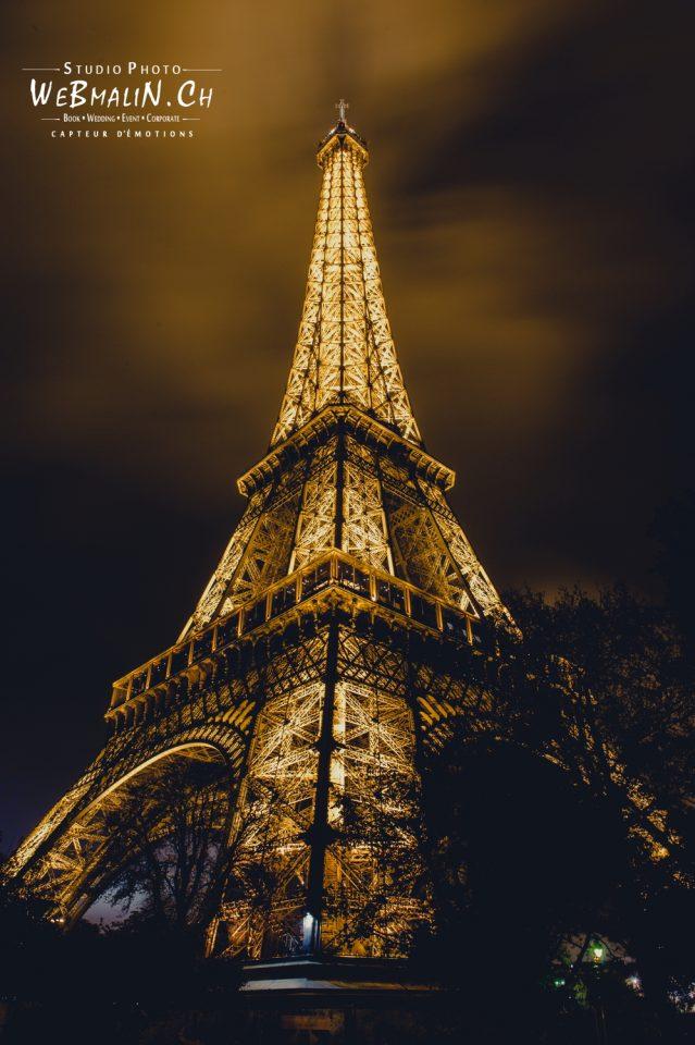 Portfolio - Paysage - Tour Eiffel - Champs Mars - Paris