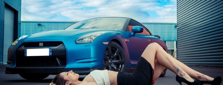 Noemi NowNow VS Bluezilla GTR R35