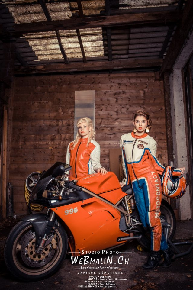 Portfolio - Auto Moto Geneve - Model Jovana & Christelle