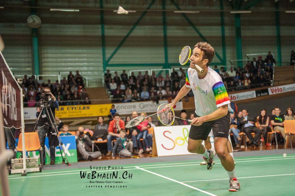 Portfolio - Solibad Show - Badminton - Nathan Robertson
