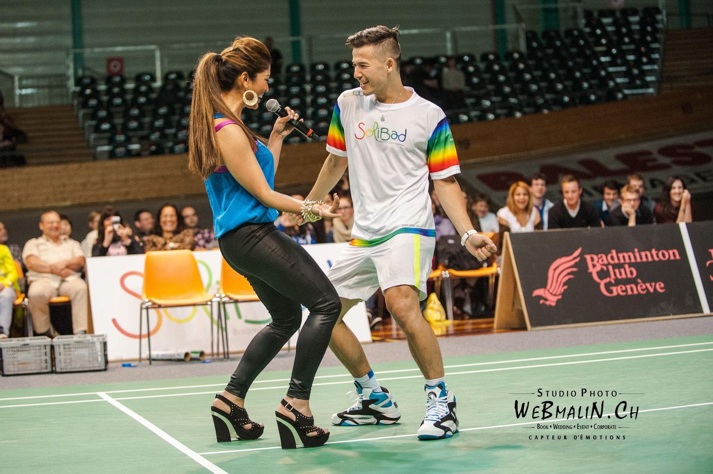 Portfolio - Solibad Show - Badminton - Suzanne Rayappan - Matthieu Lo Ying Ping