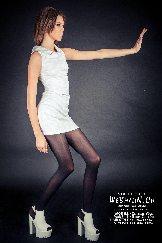 Portfolio - Studio à Geneve - Styliste Yakov - Models Cristelle