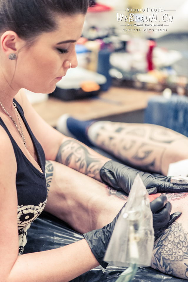 Post - Evian Tattoo Show - Tatoueur - Laura Marshall