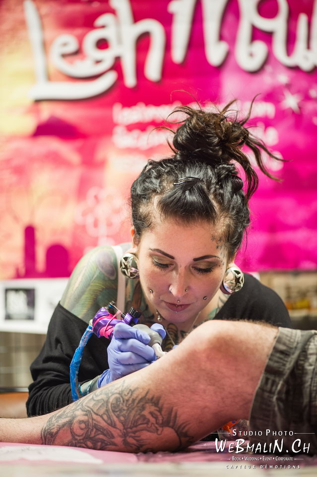 Post - Evian Tattoo Show - Tatoueur - Leah Moule
