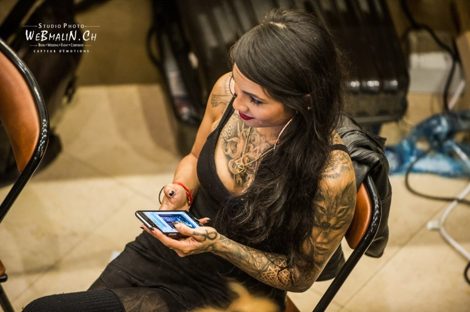 Reportage - Convention Evian Tattoo Show - Tattoueuse - D3S_6709-1