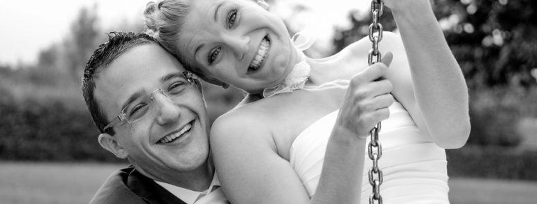 Mariage en Noir & Blanc – Evian • Thonon